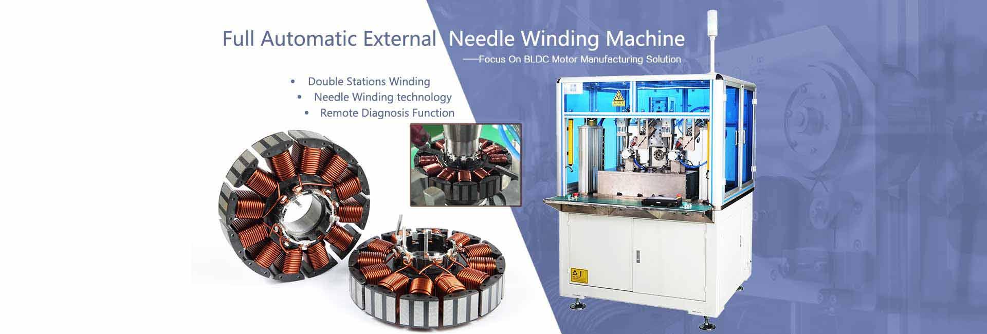 BLDC winding machine,BLDC stator manufacturing,BLDC winder